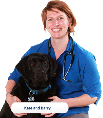 Dr Kate and Barry